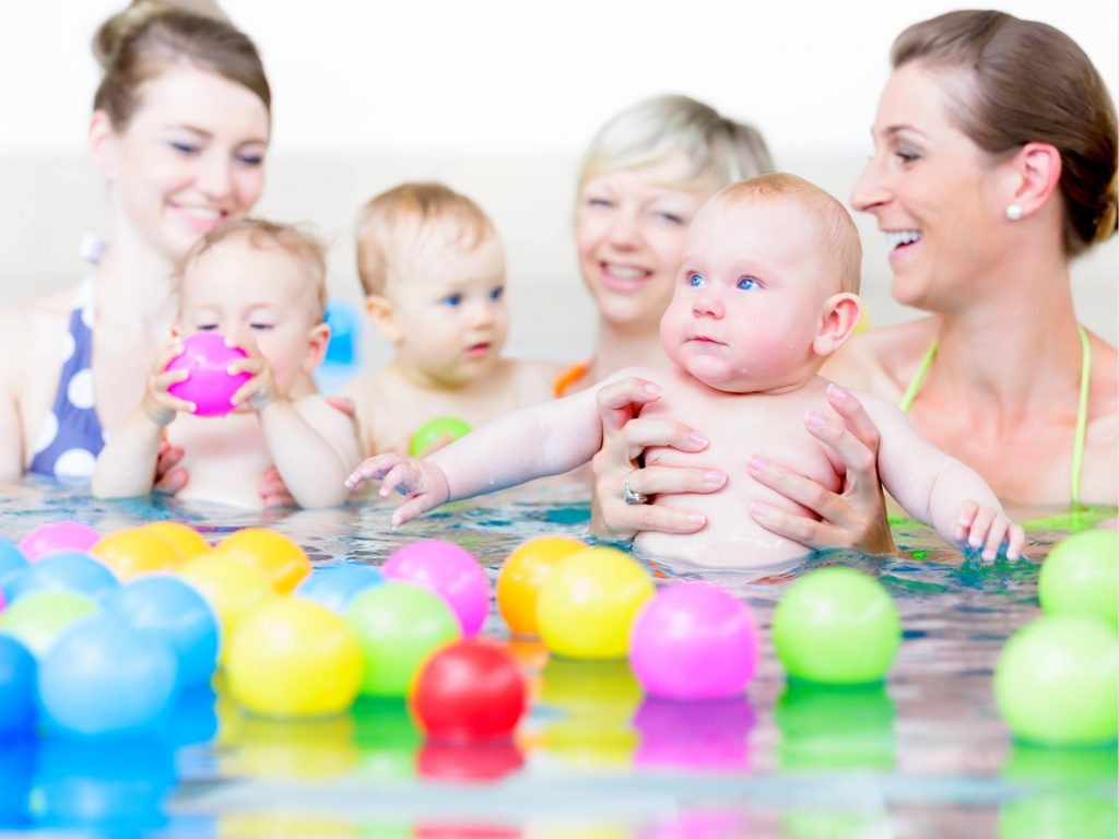 Swimming pool for babies in St. Petersburg. The benefits of swimming for babies 59